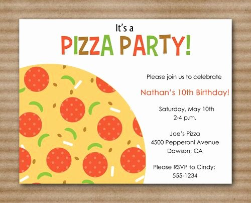 Pizza Party Invites Free Printable Awesome 1000 Images About Pizza Party On Pinterest