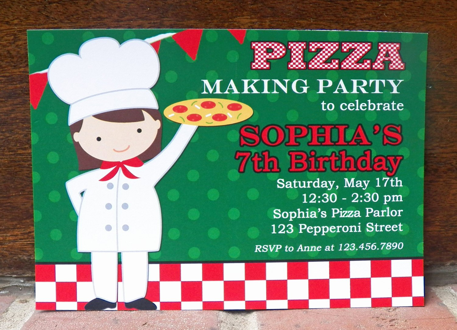 Pizza Party Invites Free Printable Inspirational Girl S Pizza Party Invitation Printable or Printed with