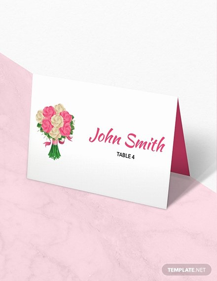 Place Card Templates for Mac Elegant Free D&u Wedding Place Card Template Download 223 Cards