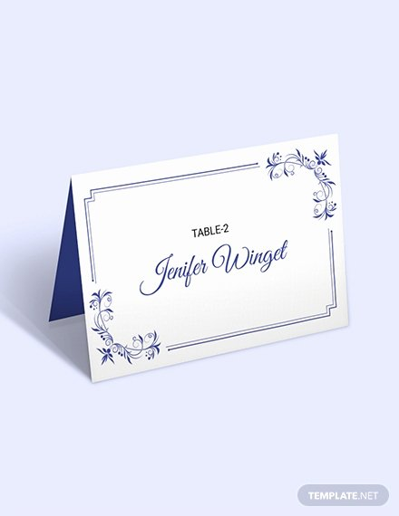 Place Card Templates for Mac Luxury Free D&u Wedding Place Card Template Download 223 Cards