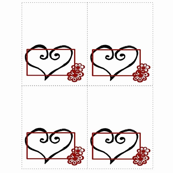Place Card Templates Free Awesome Free Templates for Wedding Seating Place Cards In Many Styles