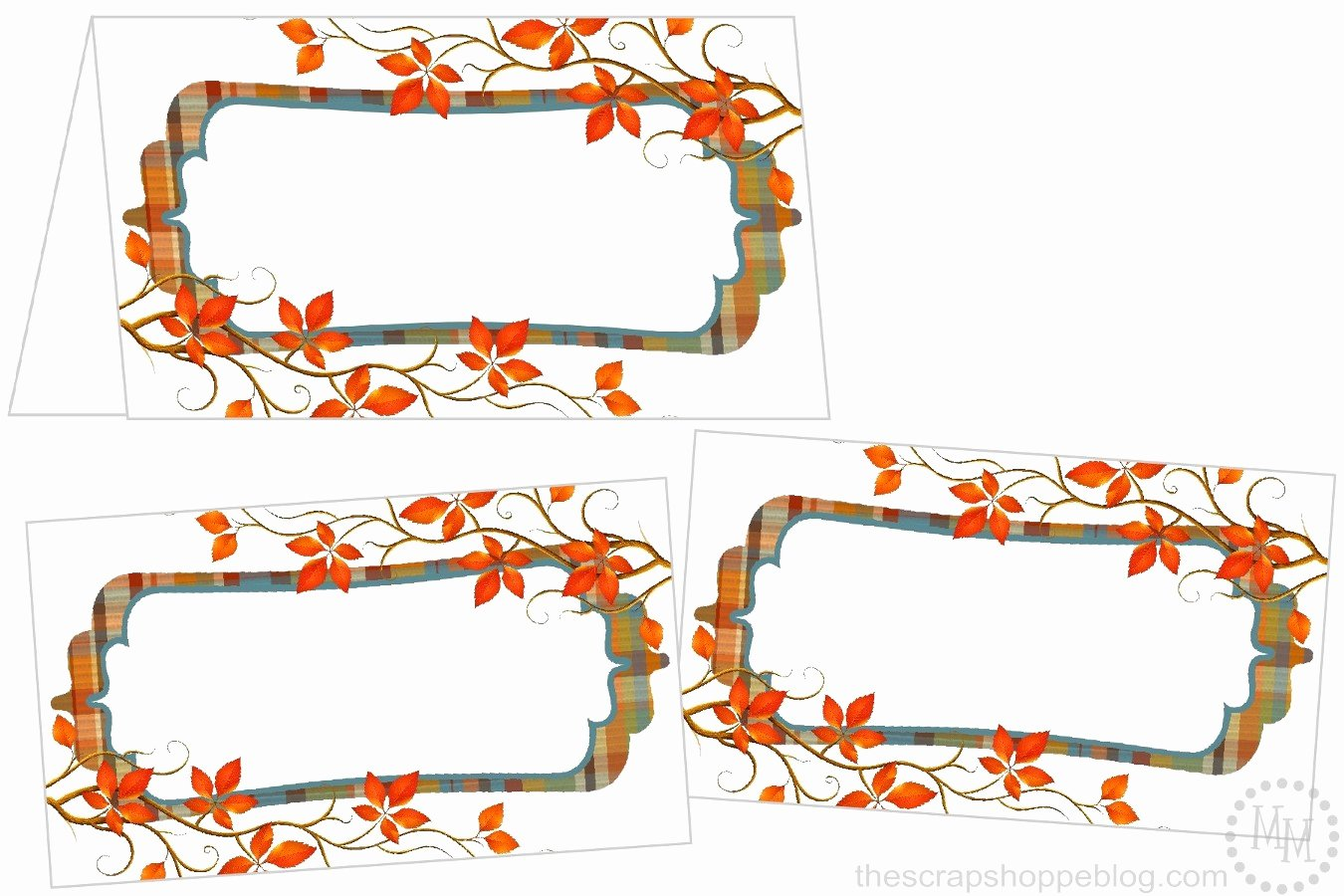 Place Card Templates Free Best Of Perfectly Plaid Thanksgiving Place Cards the Scrap Shoppe