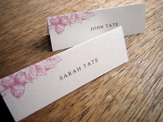 Place Card Templates Free Elegant Printable Place Cards Place Card Templates Instant