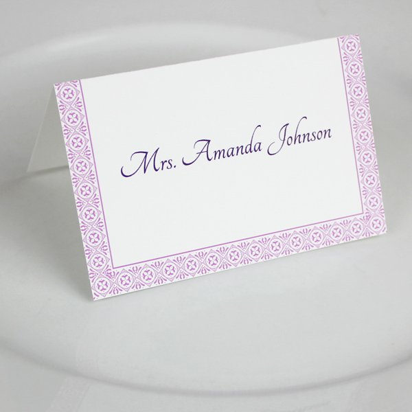 Place Card Templates Free Inspirational Microsoft Word Wedding Place Card Templates – Download & Print