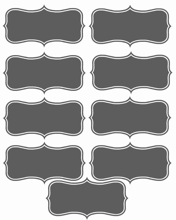 Place Card Templates Free Unique 19 Elegant & Fun Printable Place Cards