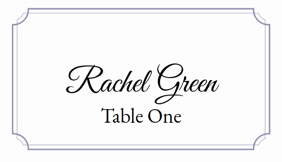 Place Cards Template for Word Inspirational Place Card Me A Free and Easy Printable Place Card Maker