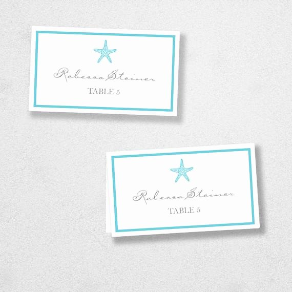 Place Cards Template for Word Luxury Printable Place Card Template Instant Download Escort Card