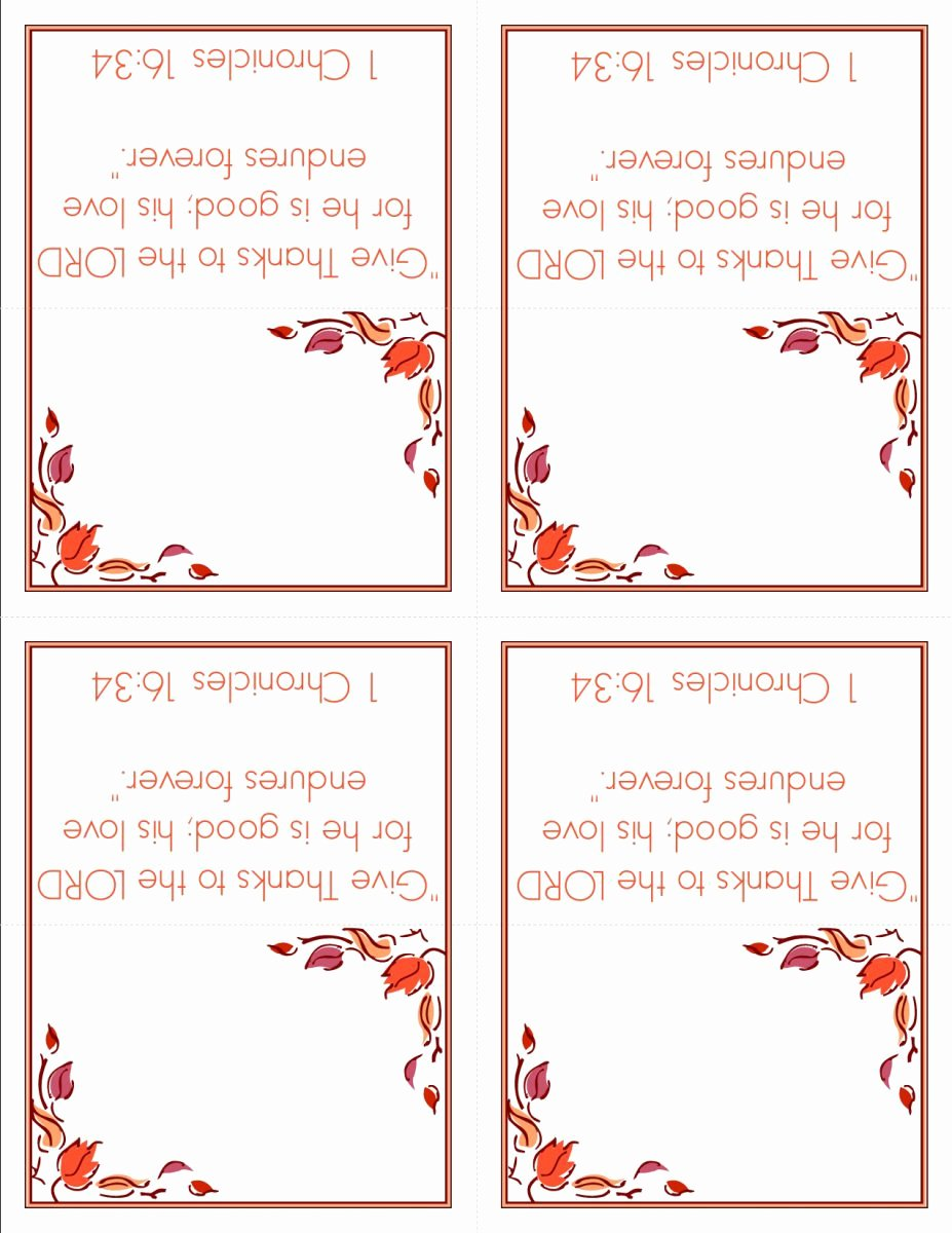 Place Cards Template Free Awesome Thanksgiving Name Place Cards Template – Festival Collections