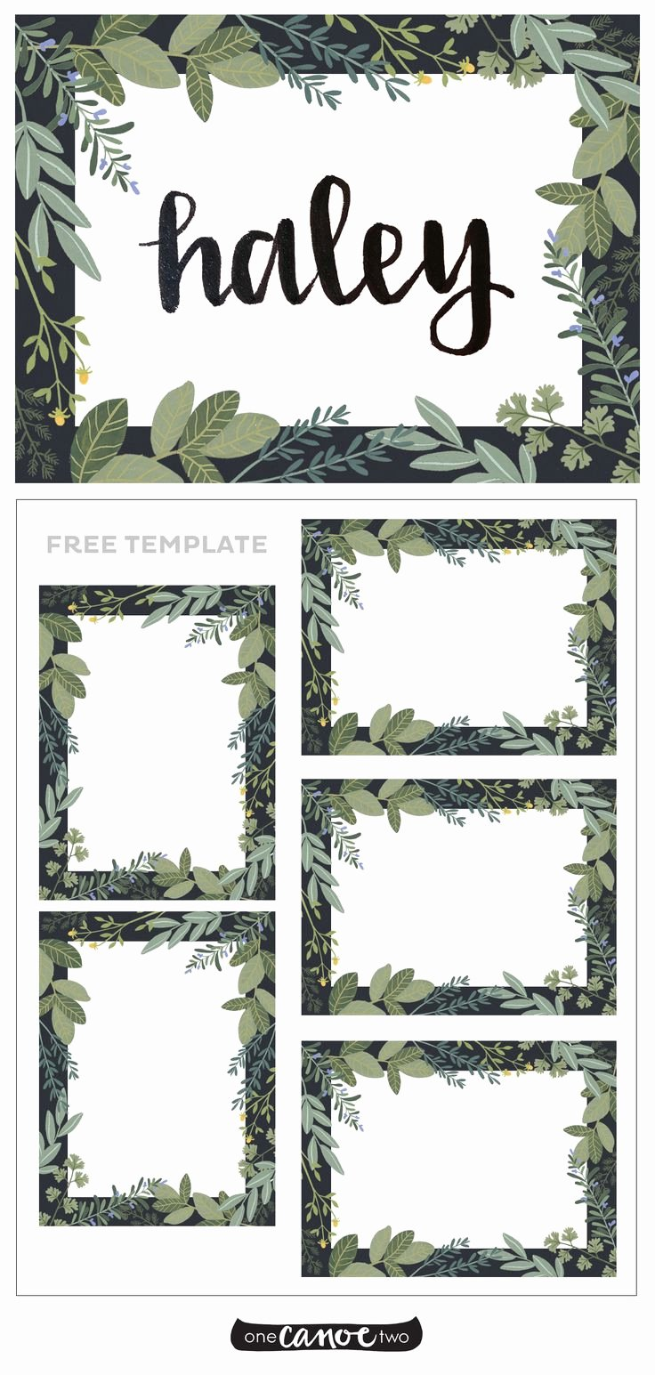 Place Cards Template Free Beautiful Best 25 Free Place Card Template Ideas On Pinterest