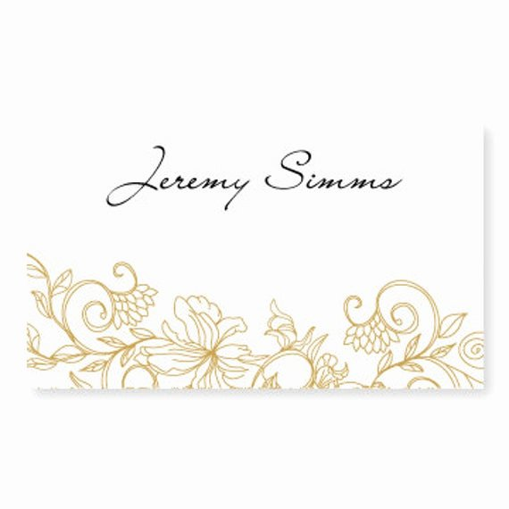 Place Cards Template Free Lovely Wedding Place Card Template Instant by Diyweddingtemplates