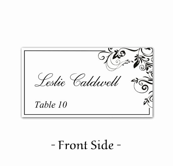 Place Cards Template Free New 49 Best Images About Place Card On Pinterest