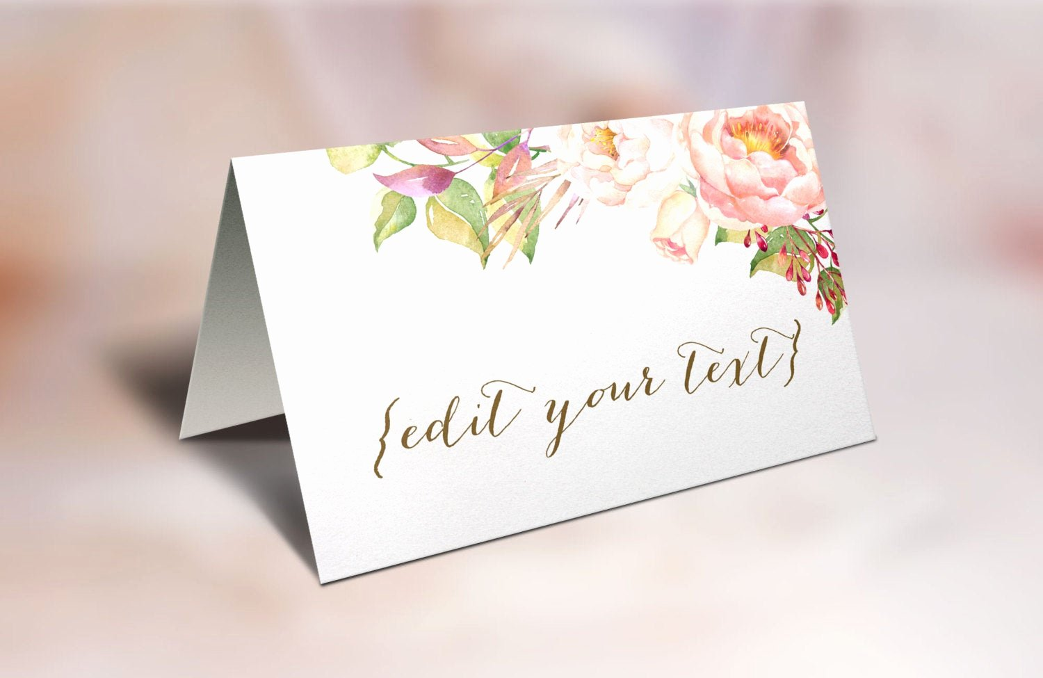 Placement Card Templates Free Fresh Printable Place Cards Wedding Place Cards Floral Place Cards