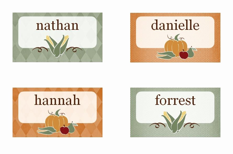 Placement Card Templates Free Fresh Printable Thanksgiving Place Cards Released as Part Of New