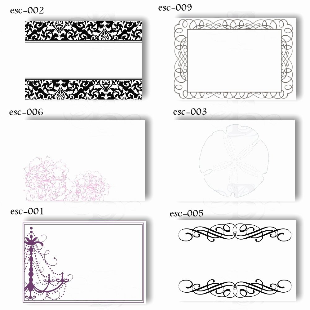 Placement Card Templates Free Inspirational 19 Elegant & Fun Printable Place Cards