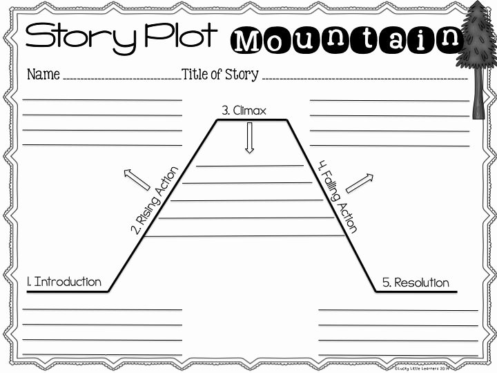 Plot Diagram Graphic organizer Lovely 1000 Images About Graphic organizers On Pinterest