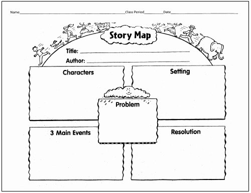 Plot Diagram Graphic organizer Lovely 25 Language Arts Graphic organizers for You and Your Kids