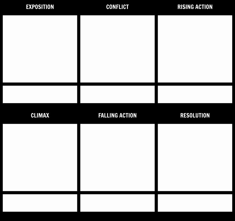 Plot Diagram Template Inspirational Plot Diagram Template Storyboard by Rebeccaray