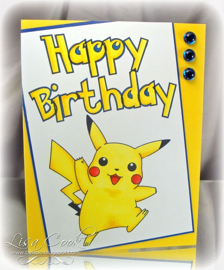 Pokemon Birthday Card Template Best Of Best 25 Pokemon Birthday Card Ideas On Pinterest