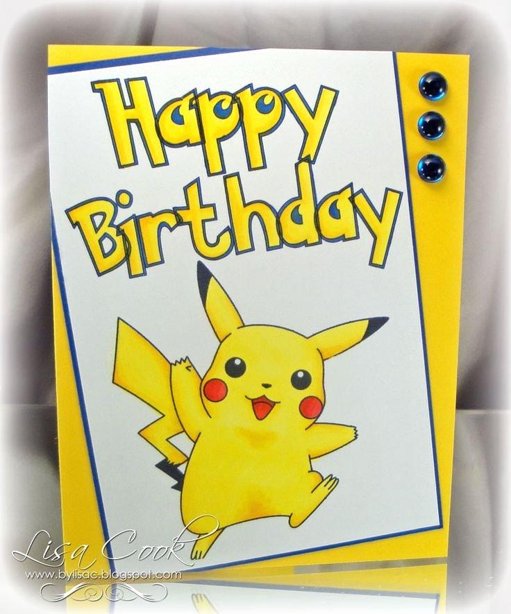 Pokemon Birthday Card Template Best Of Best 25 Pokemon Birthday Card Ideas On Pinterest