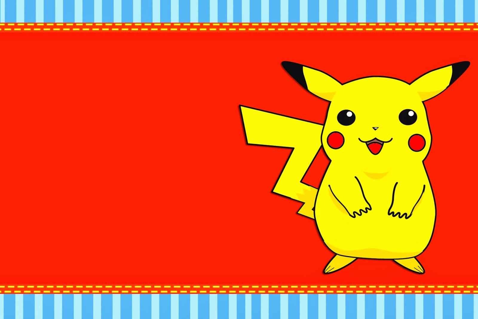 Pokemon Birthday Card Template Best Of Pokemon Free Printable Invitations Oh My Fiesta for Geeks