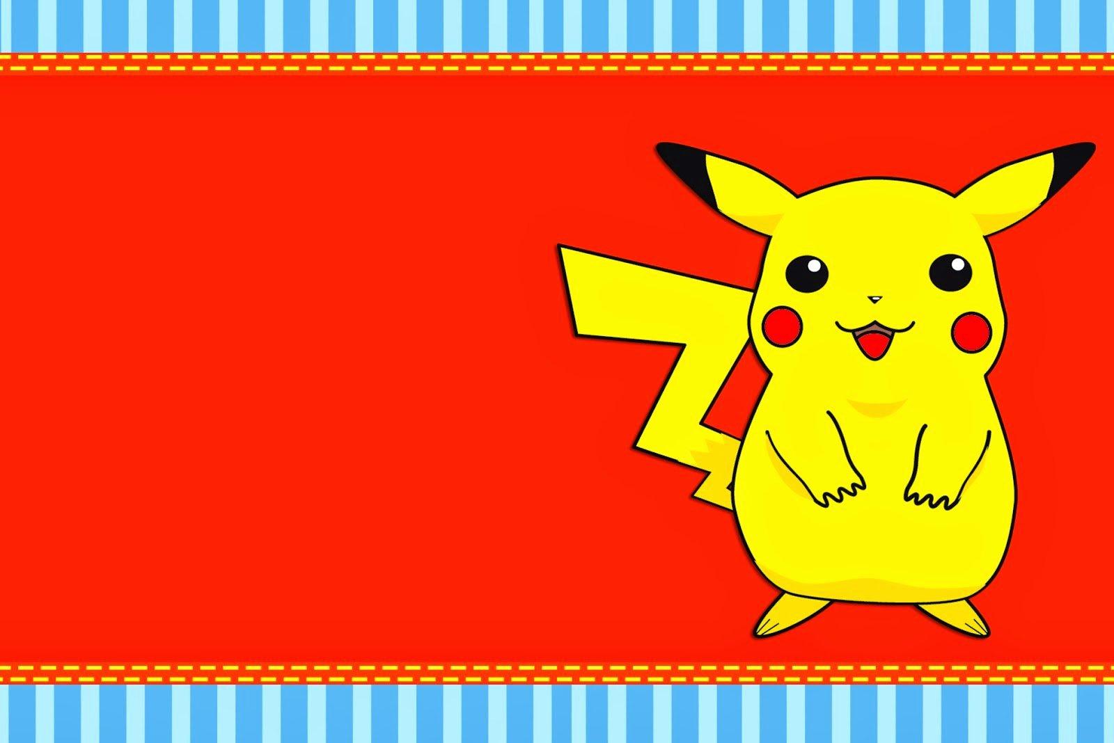 Pokemon Birthday Card Template Best Of Pokemon Free Printable Invitations Oh My Fiesta for Geeks