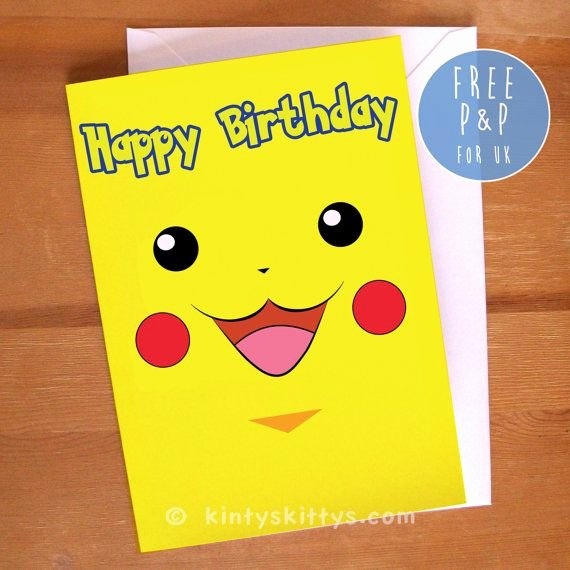 Pokemon Birthday Card Template Unique 31 Best Autumns Birthday Images On Pinterest