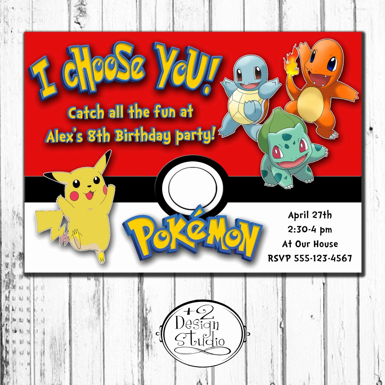 Pokemon Card Birthday Invitation Luxury I Choose You Pokemon Birthday Invitation by Kccreativedesign