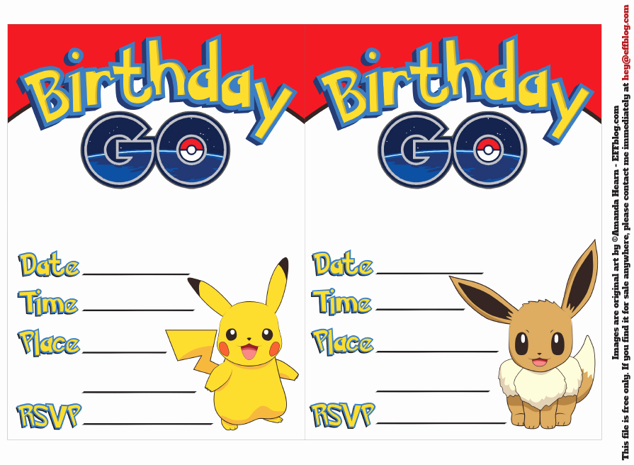 Pokemon Card Birthday Invitation Luxury Pin by Crafty Annabelle On Pokemon Printables