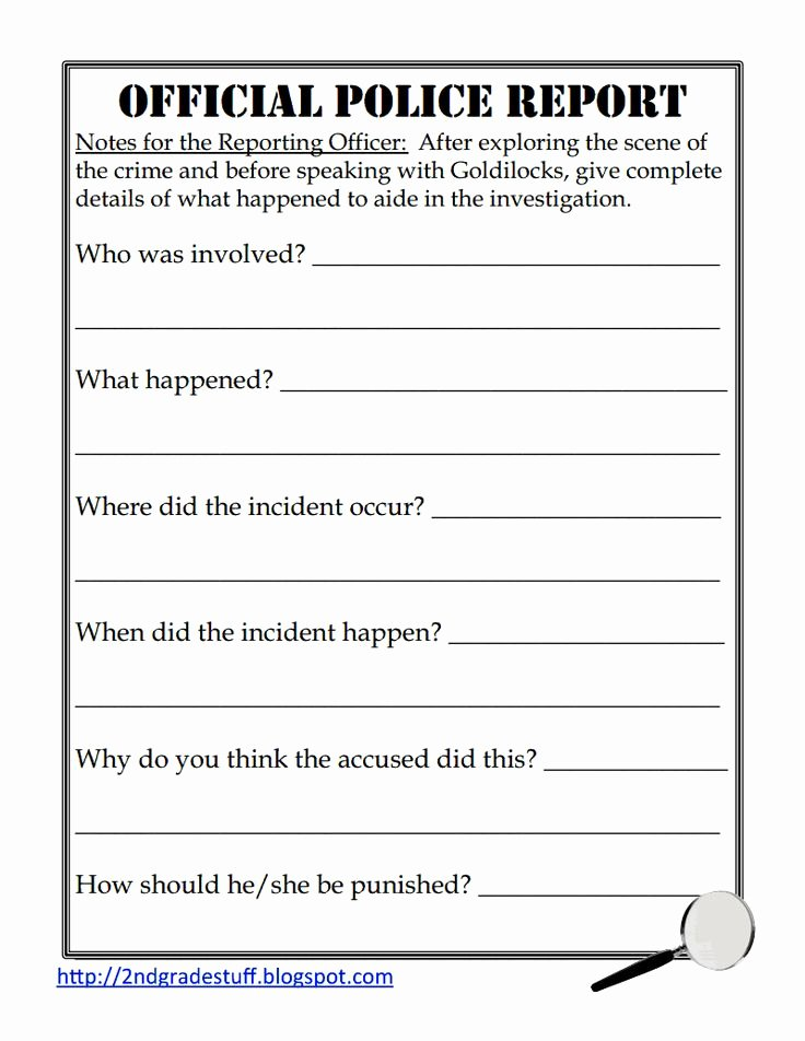 Police Arrest Report Template Fresh Police Report Sample Pdf Google Drive