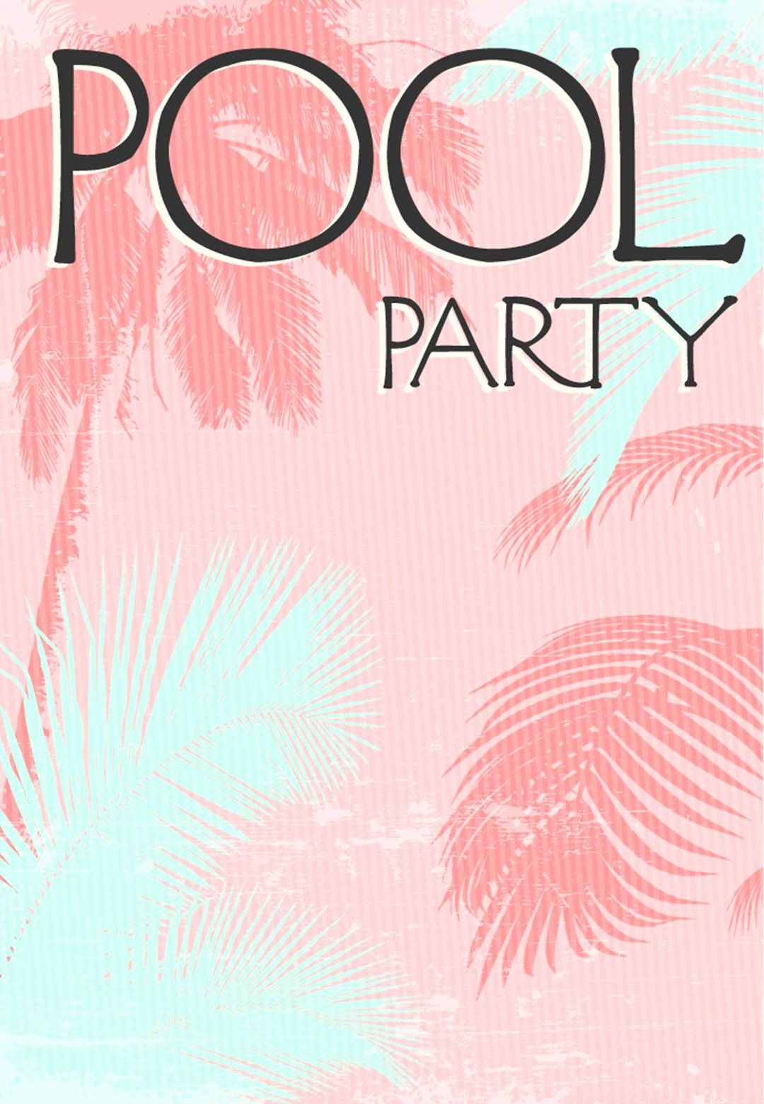 Pool Party Invitations Free Printable Lovely Summer Party Invitation Free Printable Fun In the Sun