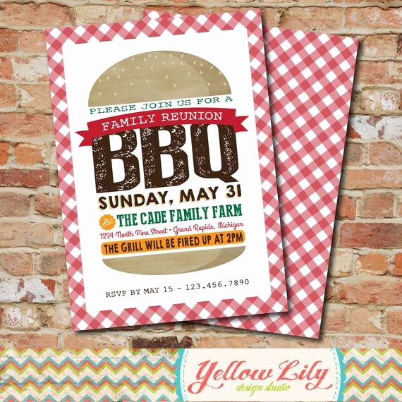 Potluck Bbq Invitation Wording Beautiful Backyard Bbq Invitation Family Reunion Neighborhood Bbq
