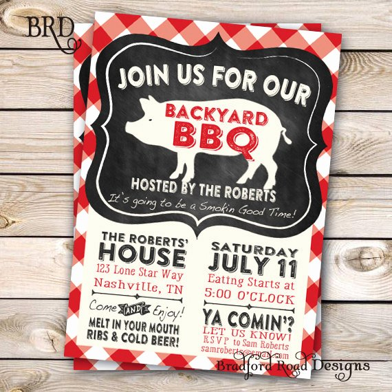 Potluck Bbq Invitation Wording Inspirational 17 Of Backyard Bbq Potluck Template