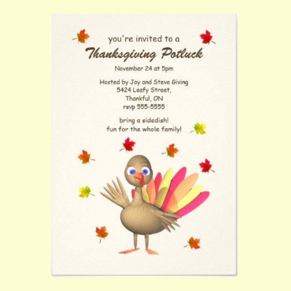 Potluck Party Invitations Wording Awesome 18 Awesome Potluck Invitation Designs & Creatives Psd