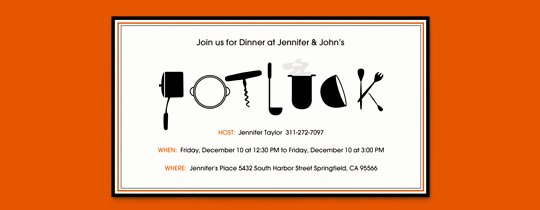 Potluck Party Invitations Wording Elegant Halloween Fice Potluck Invitation Wording – Festival