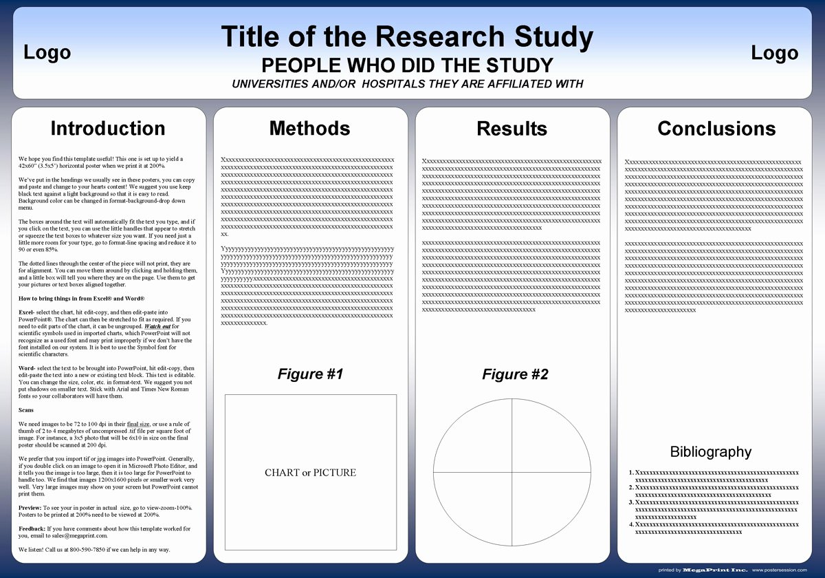 Power Point Poster Template Best Of Free Powerpoint Scientific Research Poster Templates for