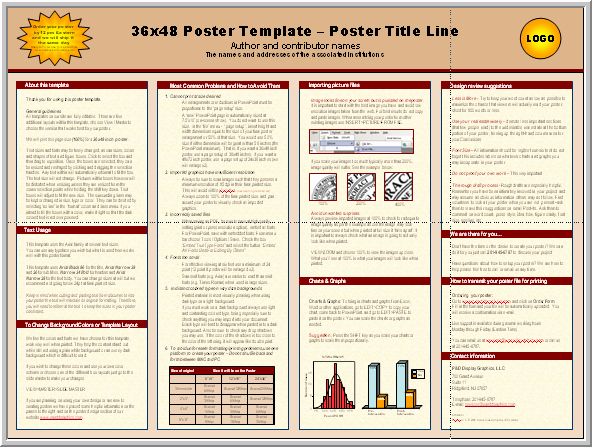 Power Point Poster Template Fresh Posters4research Free Powerpoint Scientific Poster Templates