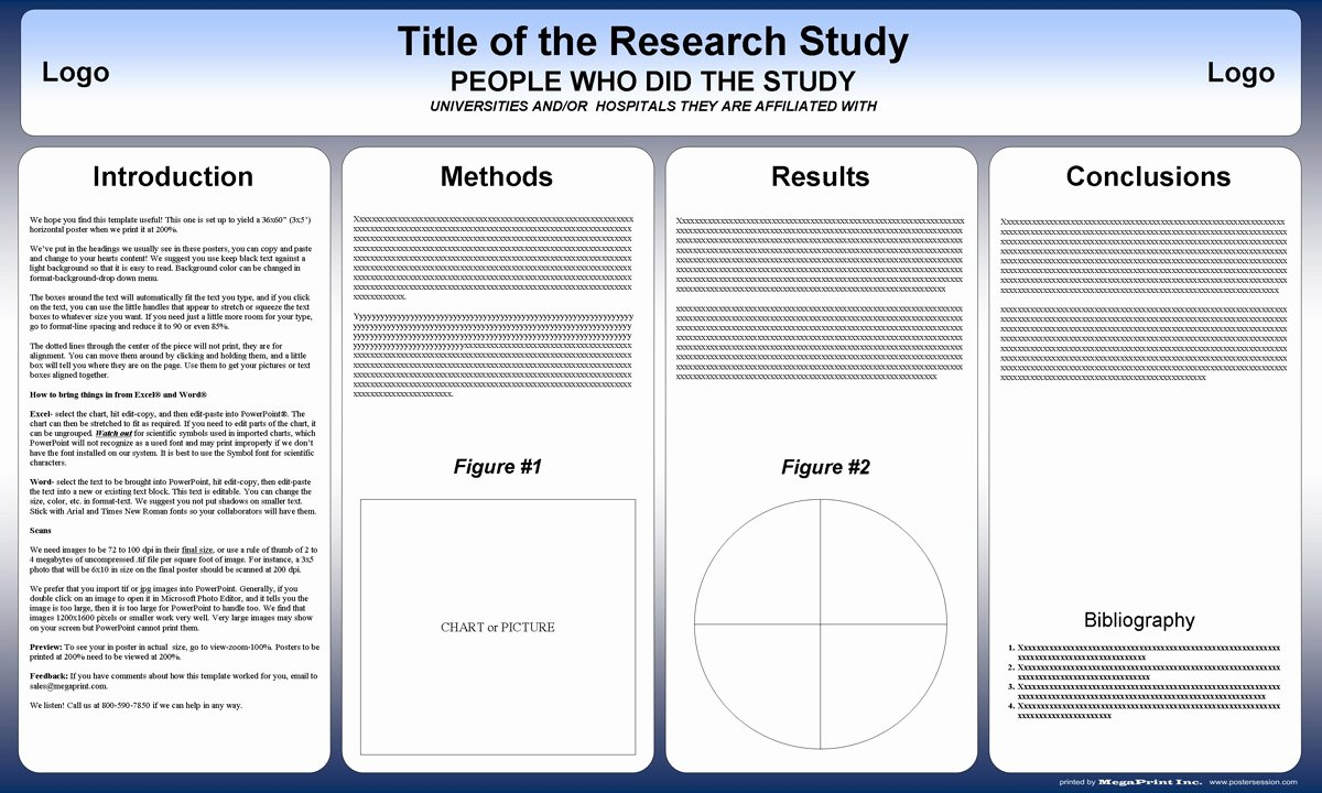 Powerpoint Research Poster Template Best Of Free Powerpoint Scientific Research Poster Templates for
