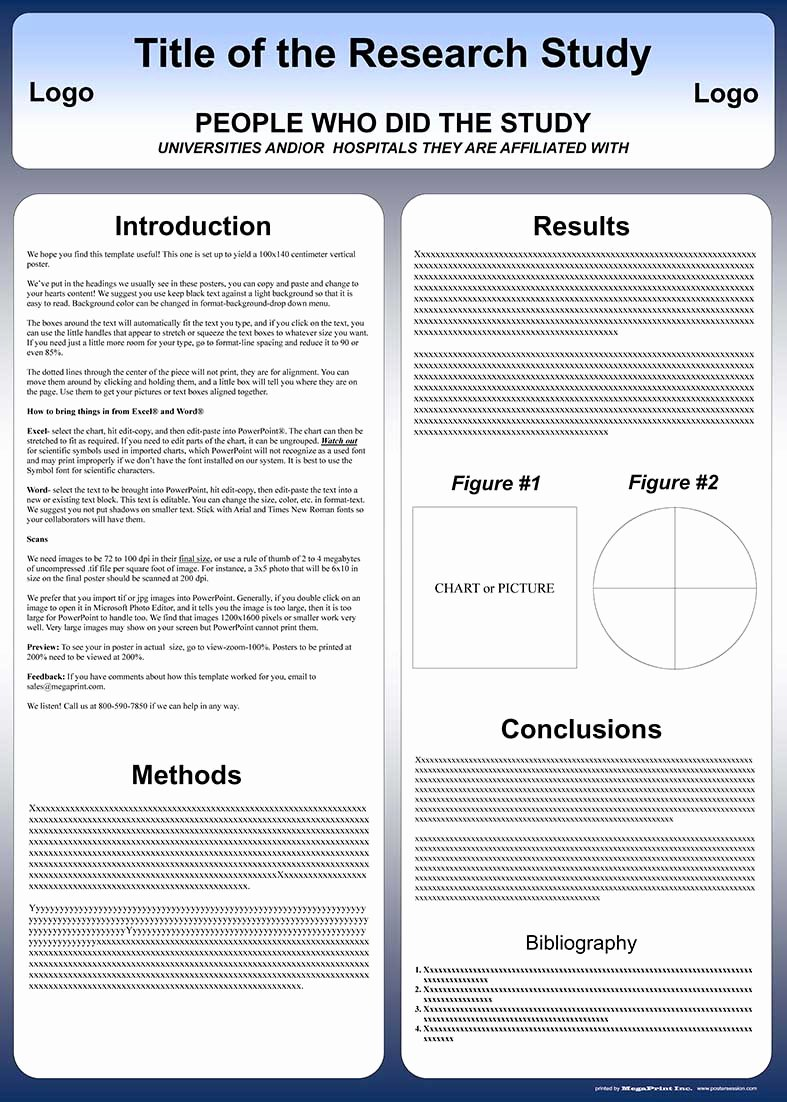 Powerpoint Research Poster Template Luxury Free Powerpoint Scientific Research Poster Templates for