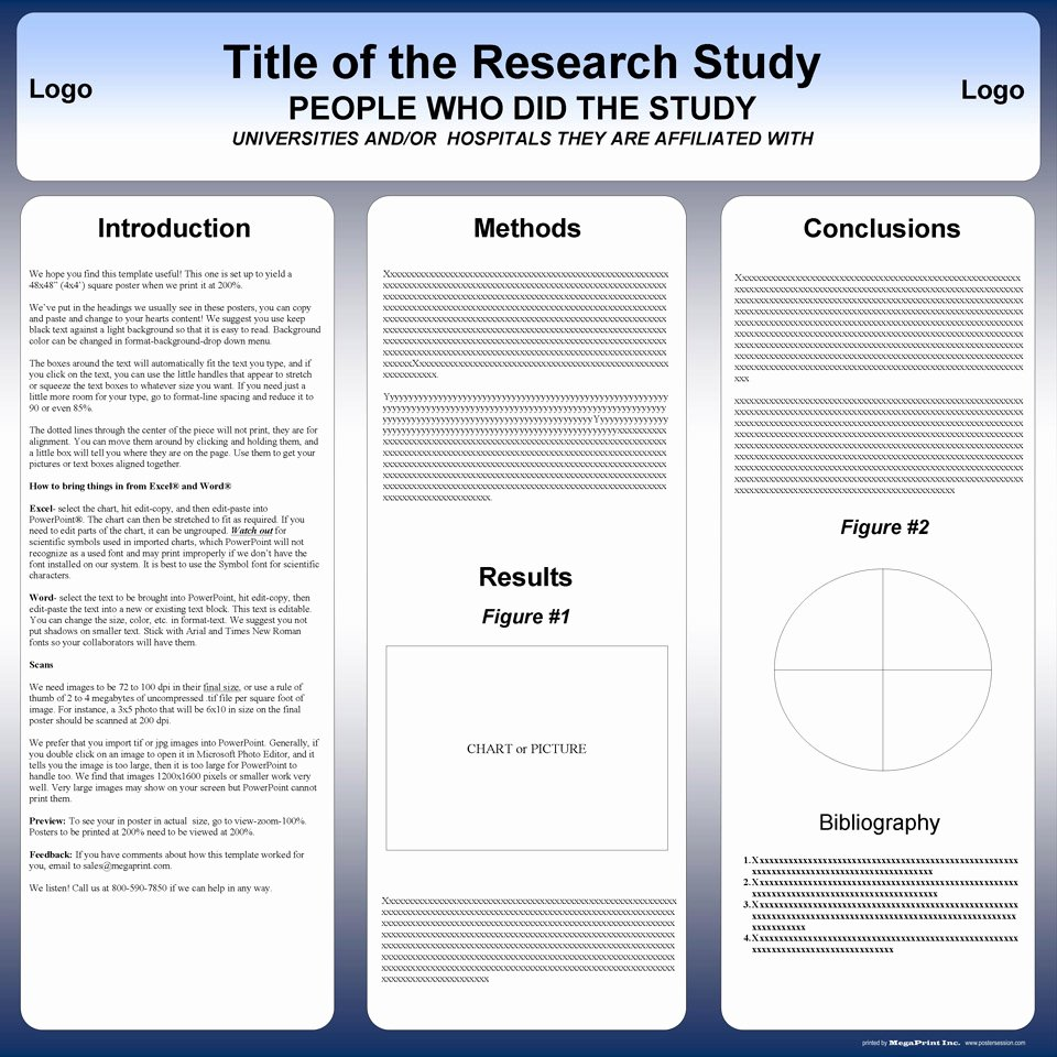 Ppt Poster Template Free Best Of Free Powerpoint Scientific Research Poster Templates for