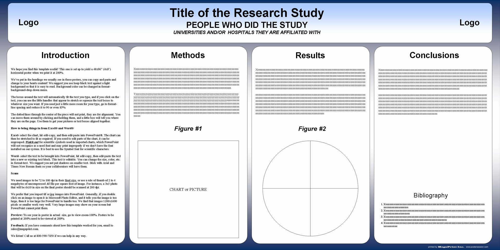 Ppt Poster Template Free Inspirational Free Powerpoint Scientific Research Poster Templates for