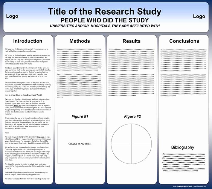Ppt Poster Template Free Unique Free Powerpoint Scientific Research Poster Templates for