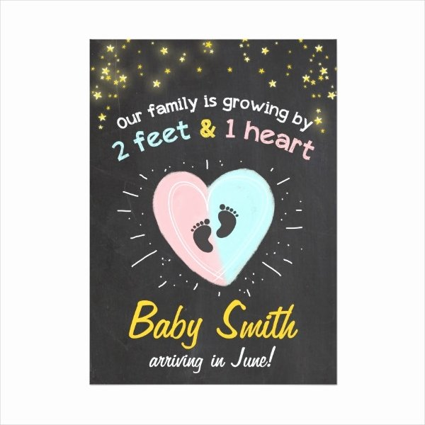 Pregnancy Announcement Cards Free Template Fresh 13 Pregnancy Announcement Designs & Templates Psd Ai