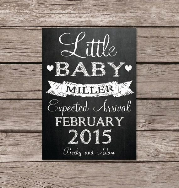 Pregnancy Announcement Cards Free Template Inspirational Best 25 Chalkboard Pregnancy Announcements Ideas On