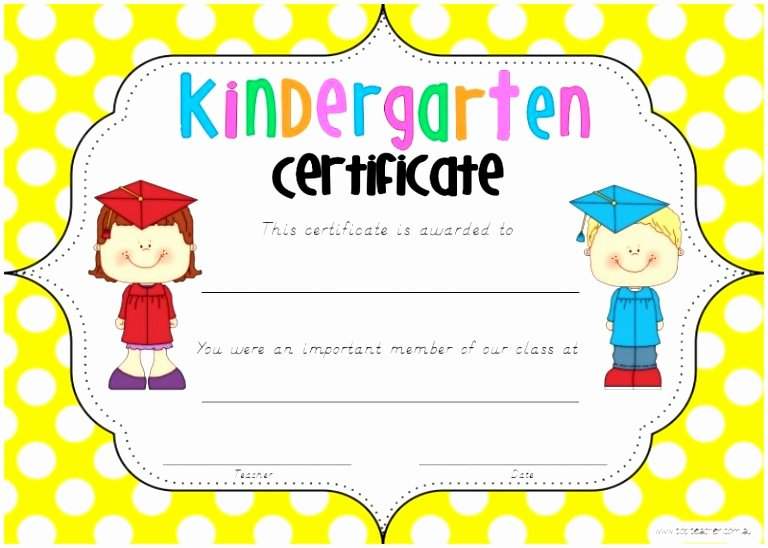 Preschool Diploma Template Word Best Of 12 Free Printable Kindergarten Diploma Template Tuakt