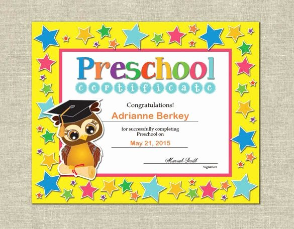 Preschool Diploma Template Word Best Of 17 Best Ideas About Free Certificate Templates On