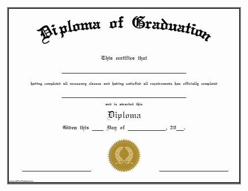 Preschool Diploma Template Word Fresh Free Printable Preschool Graduation Certificates – Planner