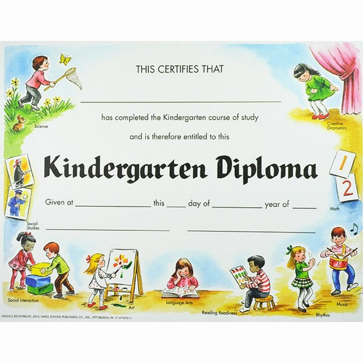 Preschool Diploma Template Word New 1000 Images About Kindergarten Diplomas On Pinterest