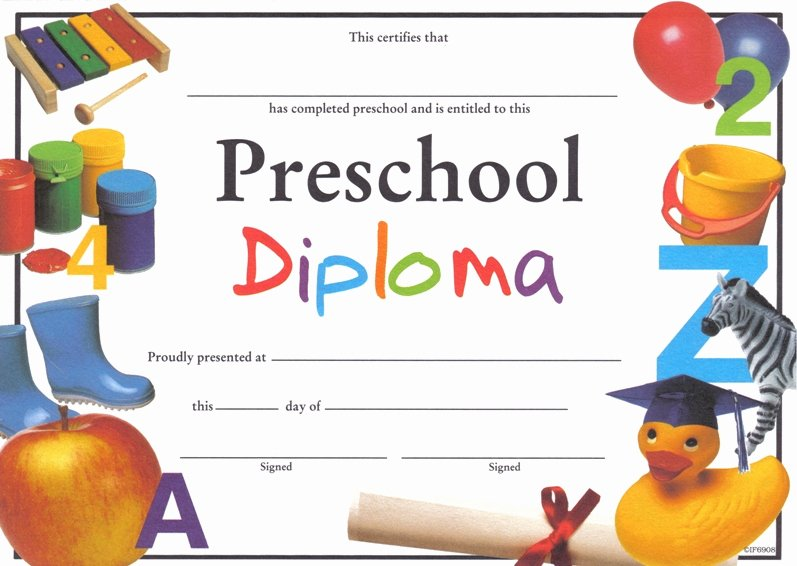 Preschool Diploma Template Word New Childrens Books In Waldorf Education