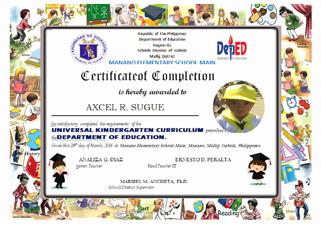 Preschool Diploma Template Word New Kindergarten Diploma Editable Deped Lp S