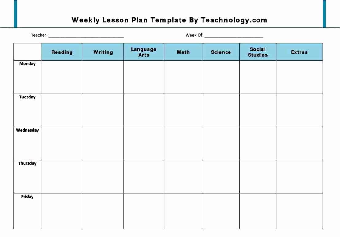 Preschool Lesson Plan Examples Luxury Preschool Lesson Plan Template